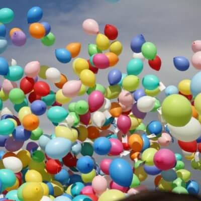 Ballonmassenstart
