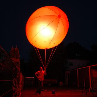 Leuchtballon-Nylon-Elipse-Halogen