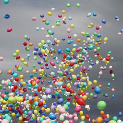 Massenballonstart